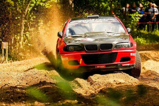 """""""Rally Žemaitija 2020"""": didžioji BMW invazija   Organizatorių nuotr."""