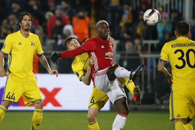 """Rostov"" – ""Manchester United"" rungtynių akimirka | Scanpix nuotr."
