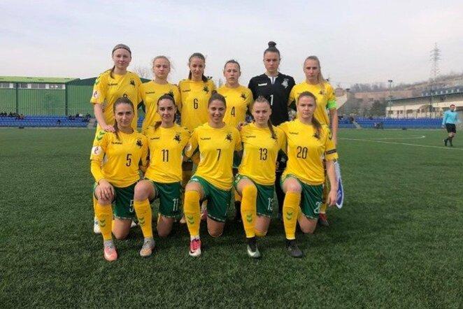 Lietuvos moterų rinktinė | LFF nuotr.