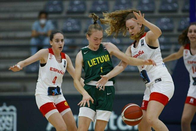 Lietuvių ir ispanių rungtynės   FIBA nuotr.