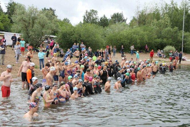 Karaliaus Mindaugo plaukimo maratonas | Organizatorių nuotr.