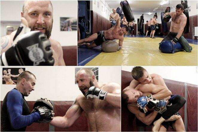 """Klubo """"Rings"""" kovotojų treniruotė   Youtube.com nuotr."""