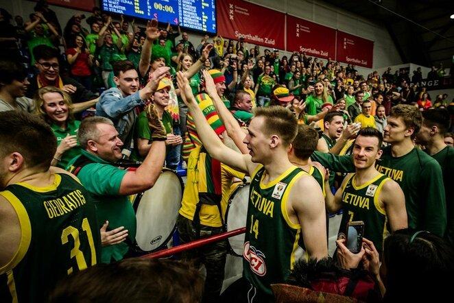 Lietuvos rinktinė | FIBA nuotr.