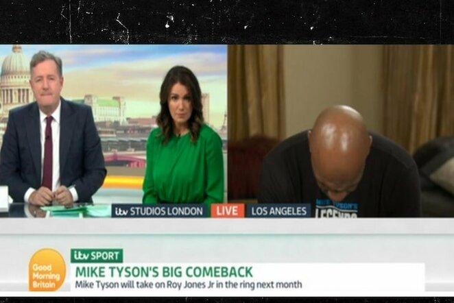 Mike'o Tysono interviu | Youtube.com nuotr.