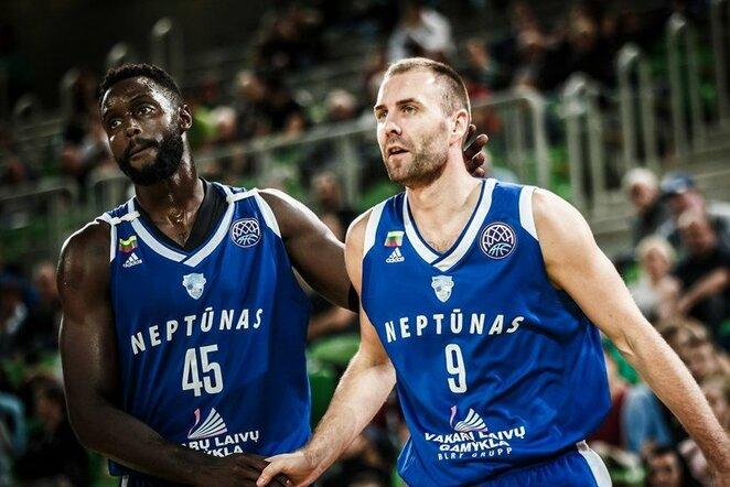 """""""Olimpija"""" - """"Neptūnas"""" rungtynių akimirka   FIBA nuotr."""