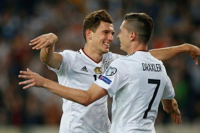 Pasaulio čempionato atranka: Vokietija - Norvegija (2017.09.04) | Scanpix nuotr.