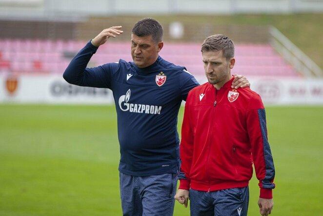 Treniruotės prieš Čempionų lygos atranką | Vytauto Kuralavičiaus nuotr.