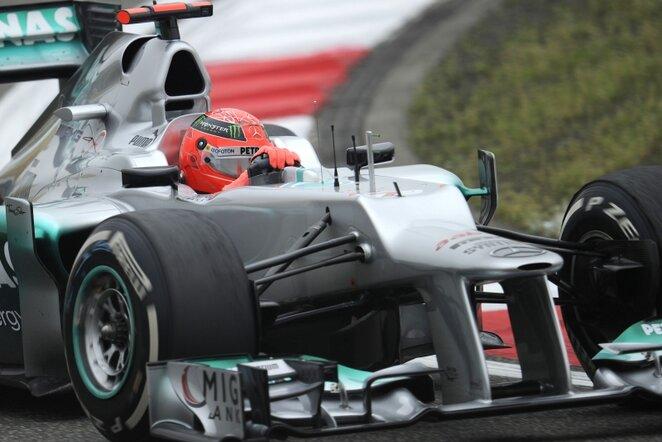 Michaelis Schumacheris   AFP/Scanpix nuotr.