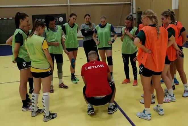 Moterų rankinio rinktinė | Organizatorių nuotr.