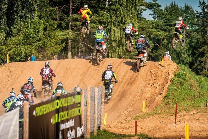 Lietuvos motokroso čempionatas   Organizatorių nuotr.