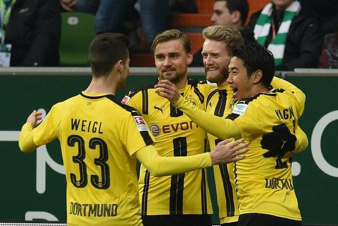 Dortmundo klubas džiaugiasi įvarčiu   Scanpix nuotr.
