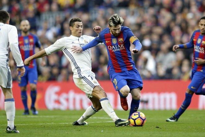 Cristiano Ronaldo ir Lionelis Messi | Scanpix nuotr.