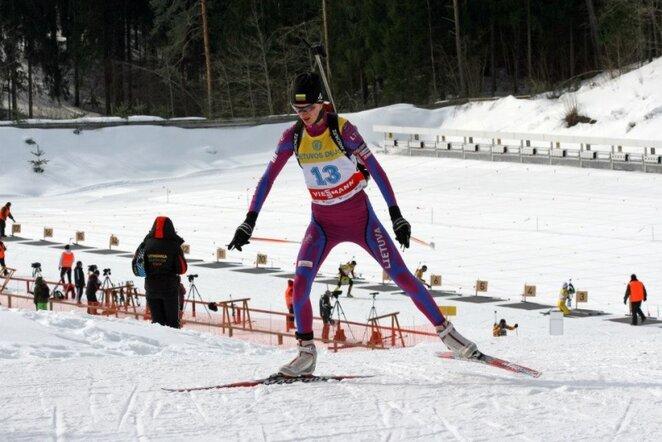 Gabrielė Leščinskaitė | Lietuvos biatlono fed. nuotr.