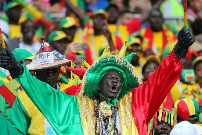 Senegalo rinktinės sirgaliai   Scanpix nuotr.