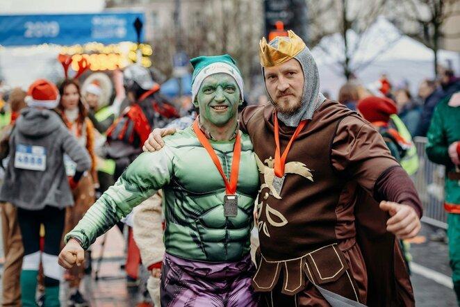 Kalėdinis bėgimas | Jevgenij Kirilenko nuotr.