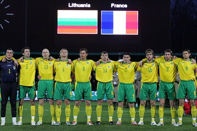 Lietuvos futbolo rinktinė 2007m. | Scanpix nuotr.