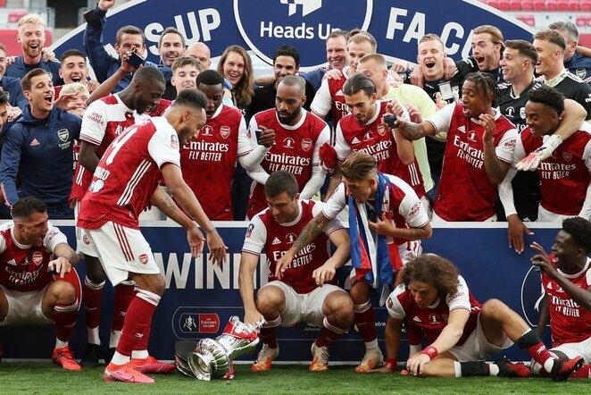 """Arsenal"" komandos triumfas   Scanpix nuotr."
