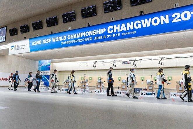 Pasaulio šaudymo čempionatas | Organizatorių nuotr.
