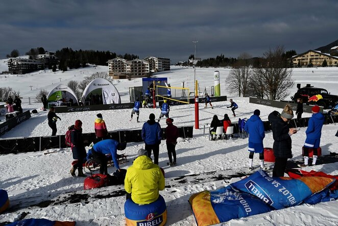 Sniego tinklinis | CEV nuotr.