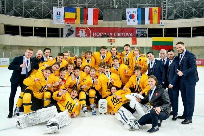 Lietuvos jaunių ledo ritulio rinktinė | hockey.lt nuotr.