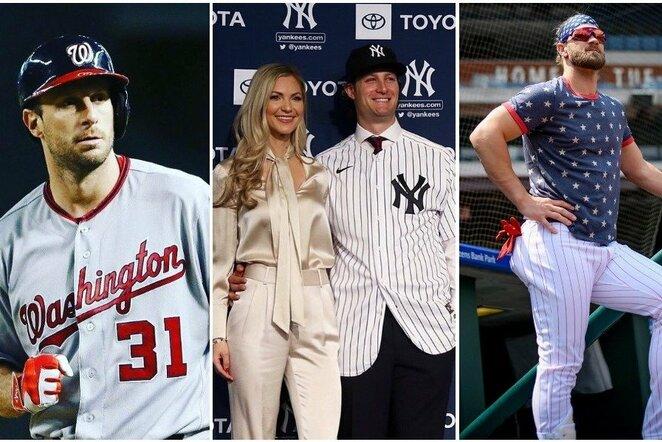 MLB milijonieriai | Instagram.com nuotr
