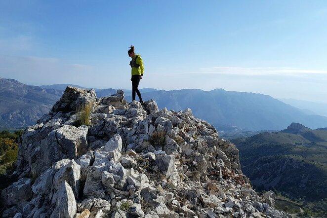 Atostogos bėgte po saulės nušviestus Ispanijos kalnus   Organizatorių nuotr.