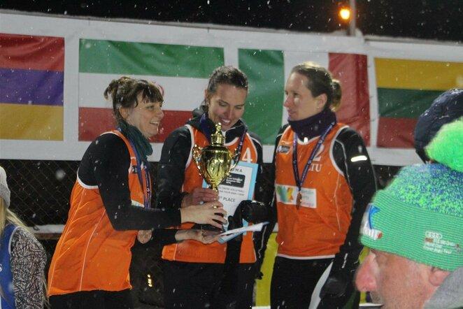 Birutė Aleknavičiūtė, Svetlana Bekiš-Šturo ir Vlada Oganauskienė   CEV nuotr.