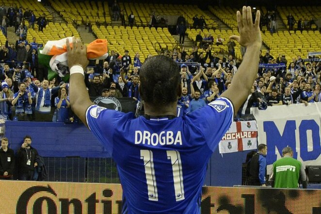 Didieras Drogba   Scanpix nuotr.