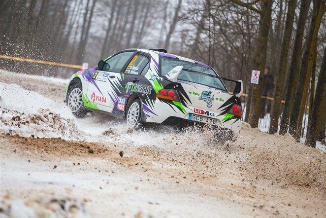"""Winter Rally"" | Edgaro Buiko nuotr."