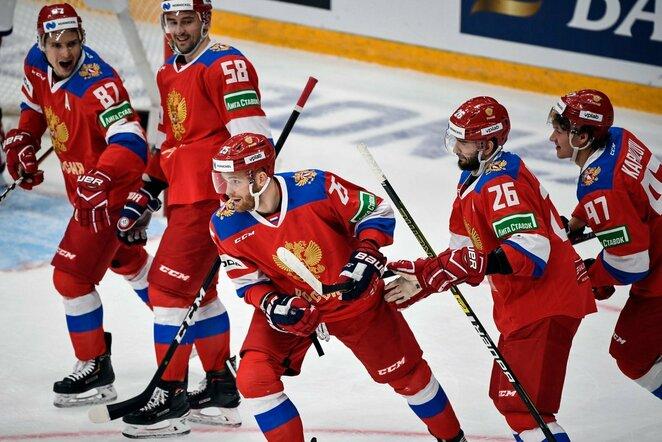 Rusijos ledo ritulio rinktinė   Scanpix nuotr.
