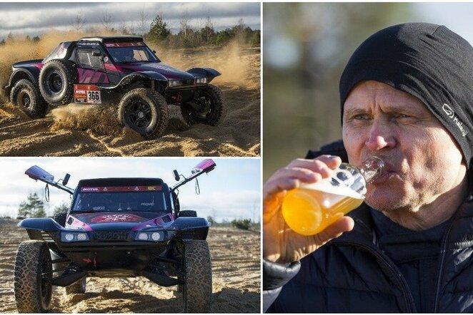 Gintas Petrus pristatė naująjį automobilį | Roko Lukoševičiaus/BNS Foto nuotr.