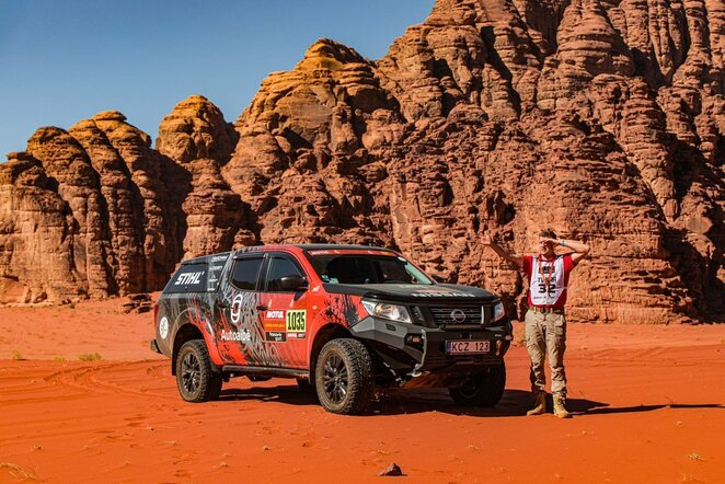 Iš Saudo Arabijos sugrįžo lietuviška Dakaro technika | iGo2Dakar nuotr.
