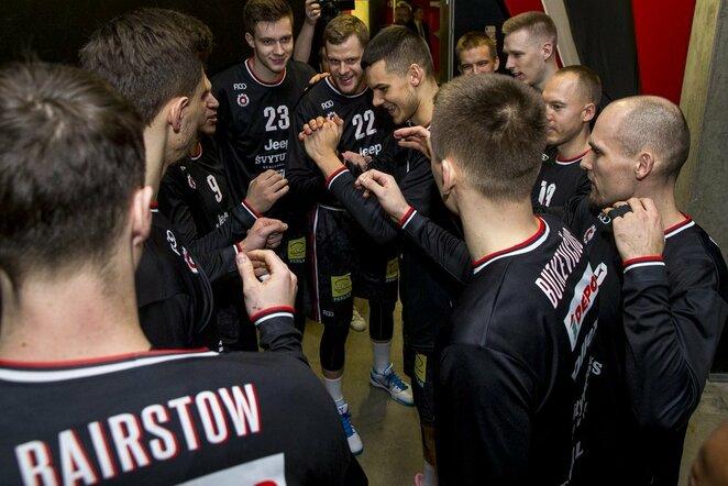 Rungtynių akimirka   Roko Lukoševičiaus/BNS Foto nuotr.