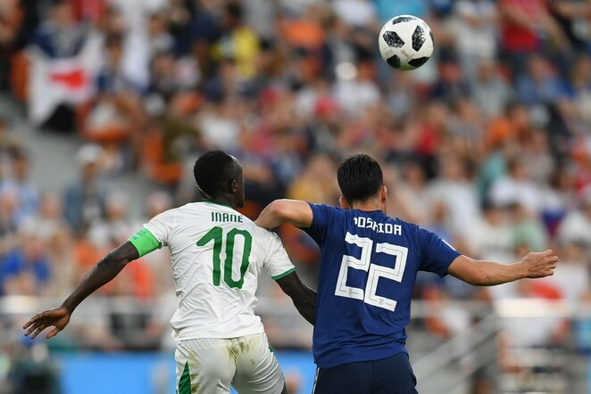 Pasaulio čempionatas: Senegalas - Japonija (2018.06.24)   Scanpix nuotr.