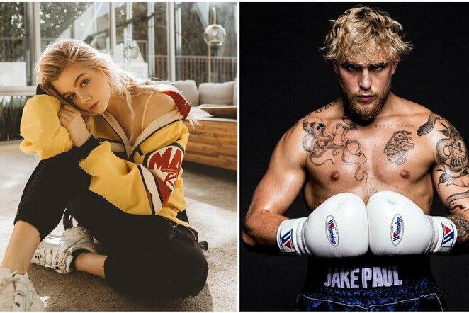 Justine Paradise ir Jake'as Paulas | Instagram.com nuotr