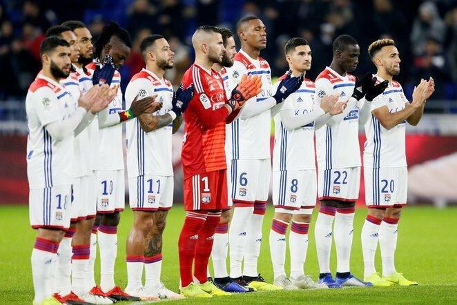 """Lyon"" – ""Monaco"" rungtynių akimirka  | Scanpix nuotr."