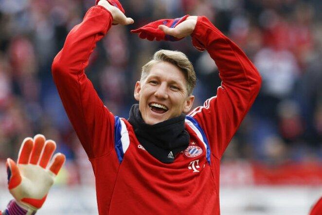 Bastianas Schweinsteigeris karjerą tęs Anglijoje   AP/Scanpix nuotr.