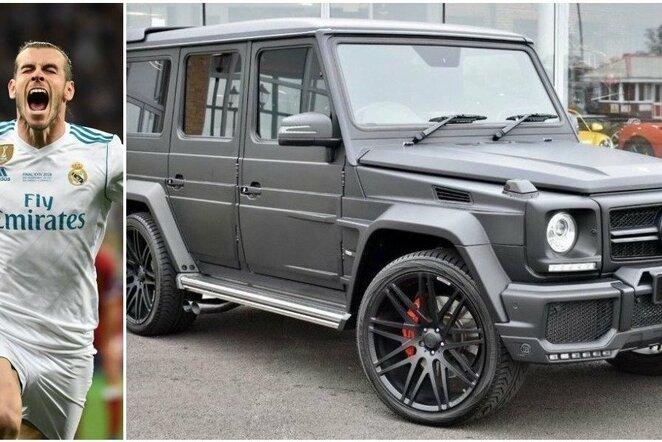 Garetho Bale'o automobilis   Scanpix nuotr.