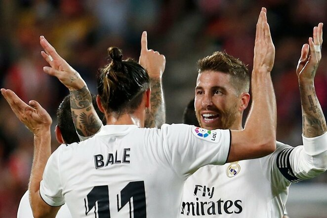 Garethas Bale'as ir Sergio Ramosas | Scanpix nuotr.