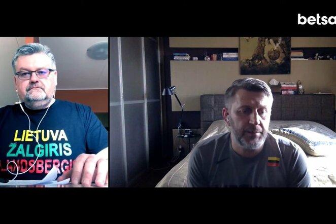Podcastas su D.Maskoliūnu   Youtube.com nuotr.