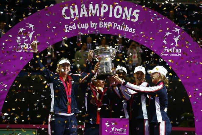 JAV moterų teniso rinktinė | Scanpix nuotr.