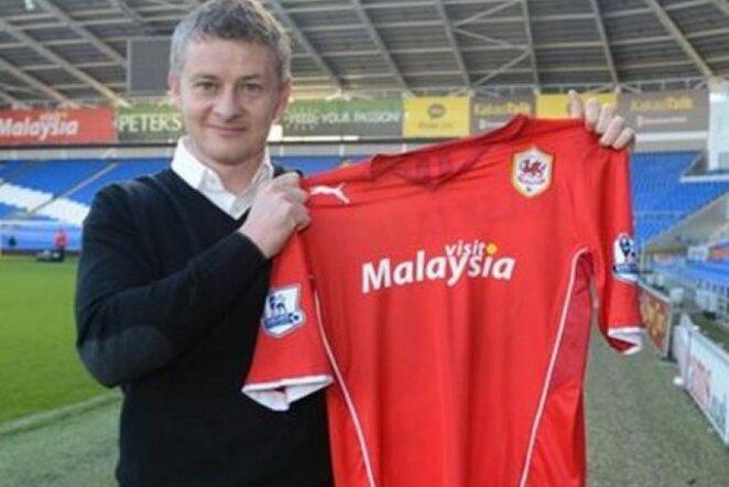 O.G.Solskjaeras tapo naujuoju Velso ekipos treneriu | cardiffcityfc.co.uk nuotr.