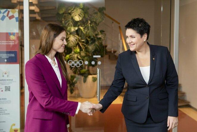 Aleksandra Herasimenia Vilniuje | Luko Balandžio / BNS foto nuotr.