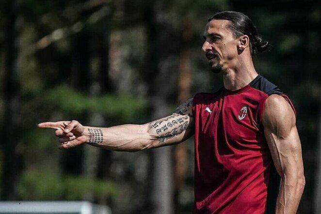 Zlatanas Ibrahimovičius | Instagram.com nuotr