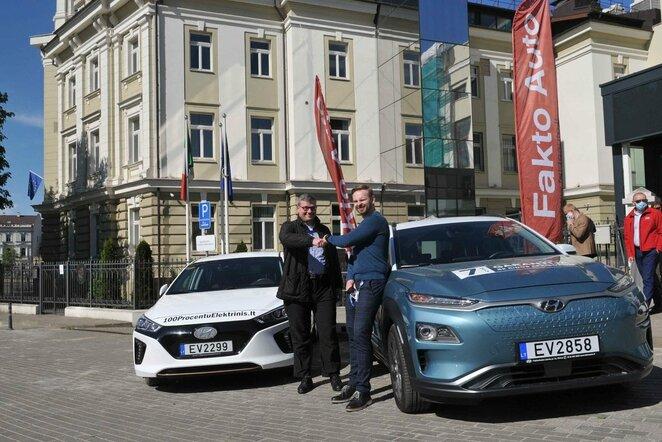 Elektromobilių varžybose Lietuvoje debiutuos naujausi modeliai | Organizatorių nuotr.