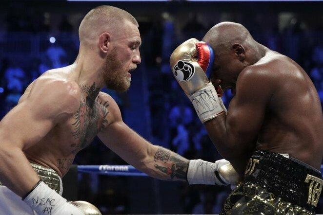 Floydas Mayweatheris prieš Conorą McGregorą | Scanpix nuotr.