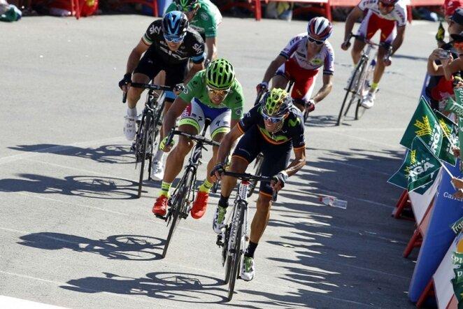 Ketvirtojo etapo finišas | AFP/Scanpix nuotr.