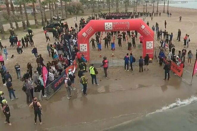 Triatlonas Ispanijoje   Youtube.com nuotr.