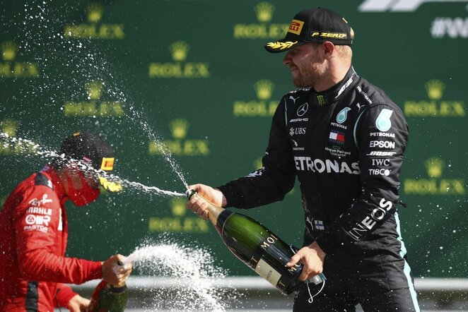 Charlesas Leclercas ir Valtteri Bottas | Scanpix nuotr.
