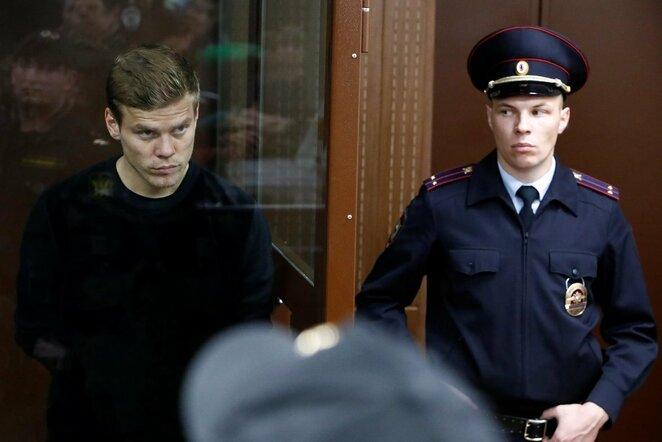 Du Rusijos rinktinės žaidėjai sulaikyti už vyriausybės pareigūno sumušimą   Scanpix nuotr.